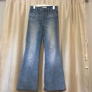 Flare Madewell Light Wash Jeans